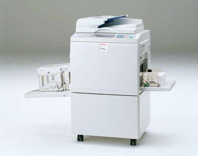 小型印刷机_日本理光推出satelio a650v首款生物质塑料数码孔版印刷机